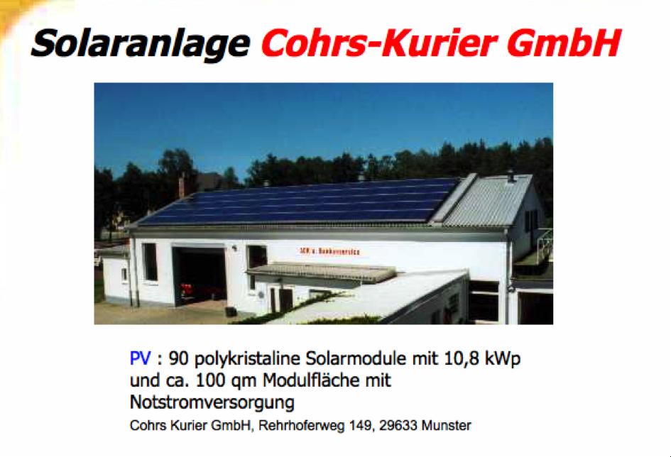 Cohrs-Kurier-GmbH
